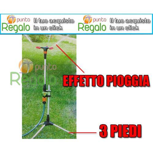 Irrigatore rotante 3 spruzzatori da giardino for Spruzzatori giardino